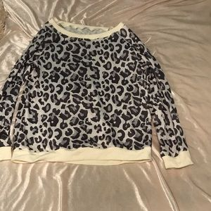 Tops - Cheetah Print Shirt